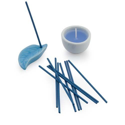 4138 - Set Velas Incenso NIKEL