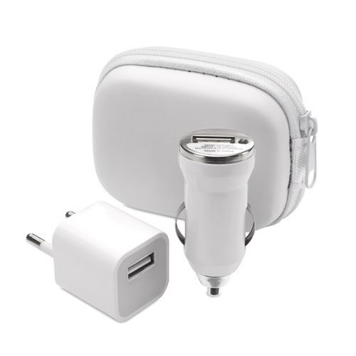 4331 - Set Carregador USB CANOX